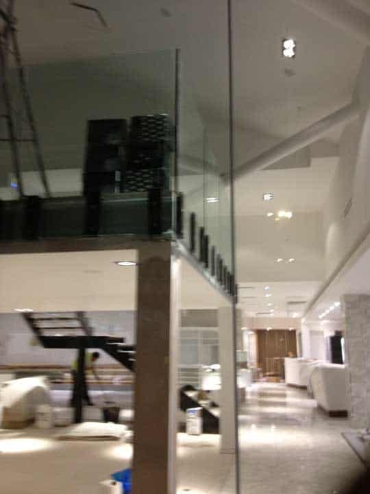 Glass Partition Wall Construction